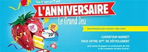Carte Carburant Carrefour : grand jeu carrefour anniversaire market 2018 promotions ~ Medecine-chirurgie-esthetiques.com Avis de Voitures