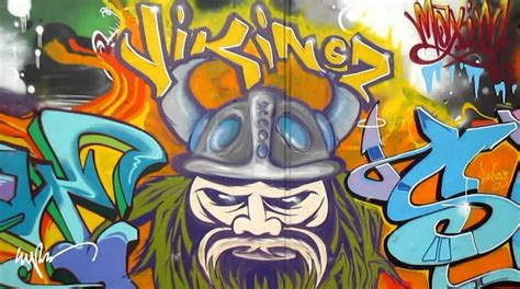 Grafiti Persib : Gambar Grafiti Viking Persib