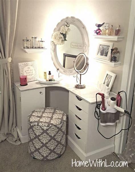 Corner Desk Vanity Combo by 25 Best Ideas About Vanity On Dressing