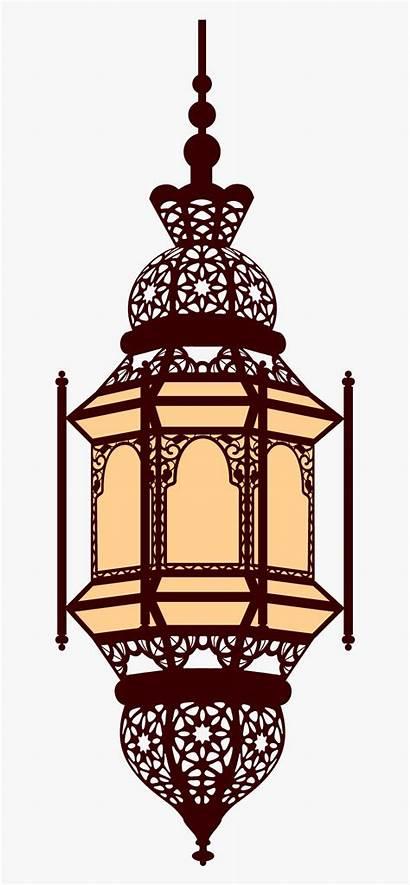 Ramadan Lantern Lamp Clipart Islamic Kareem Arabic