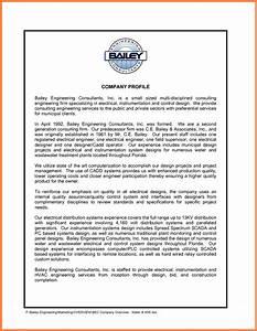 4 engineering company profile template company letterhead for Company profile template for small business