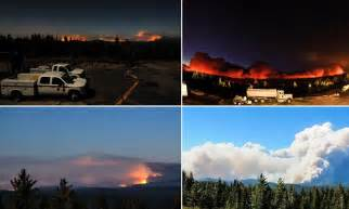 Yosemite park wildfire timelapse video shows its