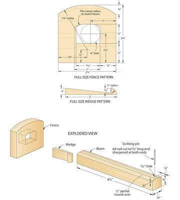 simple  effective marking gauge   marking gauge woodworking plans woodworking shop