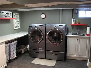 Basement - Traditional - Laundry Room - montreal - by