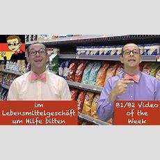Asking For Help In A German Grocery Store  Learn Intermediate German For B1b2 #21 Deutsch