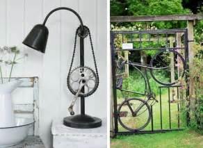 dekoration für wohnzimmer 25 upcycling ideen mit fahrradteilen neues leben fürs alte fahrrad