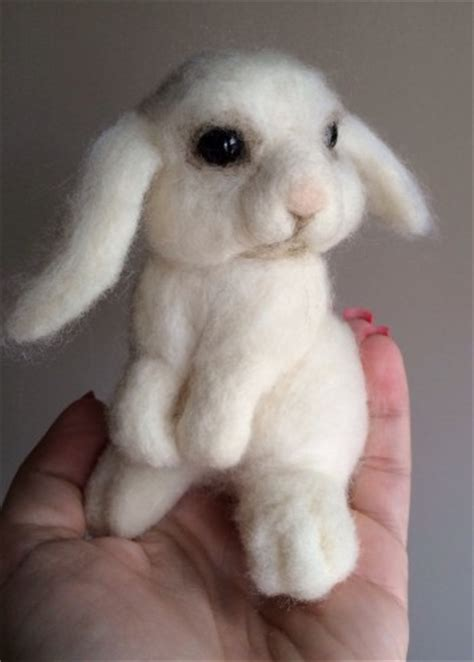 artistic needle felted bunny tutorials guide patterns