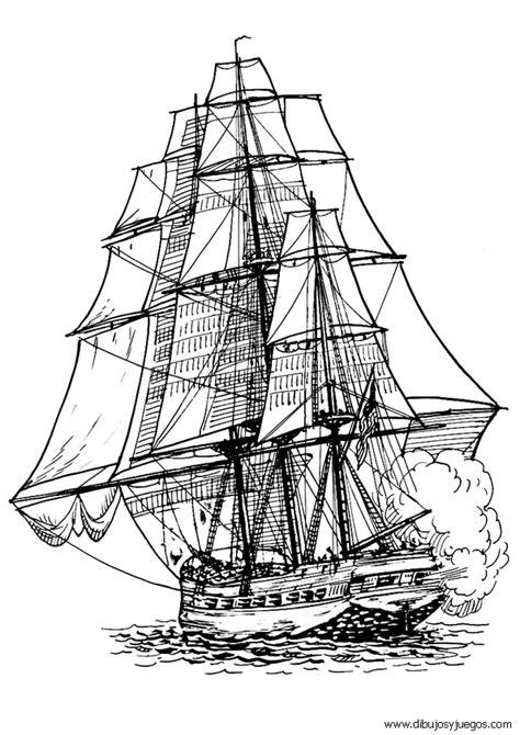Velas De Barcos Para Colorear by Dibujo De Barcos Con Velas Para Colorear 064 Dibujos Y
