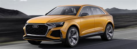 Audi Q8 Sport Concept Previews Luxury Suv With 1190+ Km Range