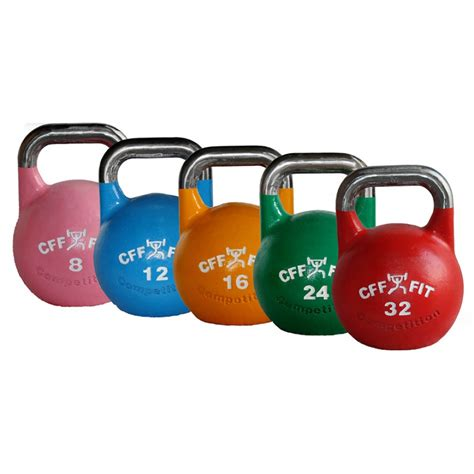 kettlebell kettlebells competition steel cff russian pro adjustable september