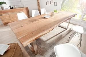 Tisch Mit Kufengestell : massiver baumstamm tisch mammut 220cm akazie massivholz industrial look 8x4 cm kufengestell mit ~ Sanjose-hotels-ca.com Haus und Dekorationen