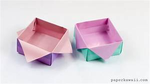 Origami Masu Box Star Variation Tutorial - Paper Kawaii