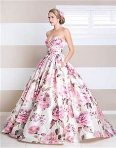 floral print wedding dress weddings beauty and attire With floral print dresses for weddings