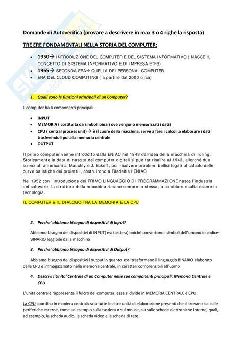 dispensa di informatica appunti di informatica generale concetti introduttivi