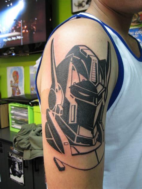 black ink transformers tattoo
