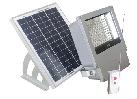 108 led outdoor solar powered wall mount flood light with