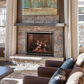 empire rushmore direct vent luxury fireplace blossman gas