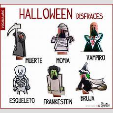 Disfraces Halloween, Vocabulario Halloween Español  Learning Spanish  Pinterest Spanish