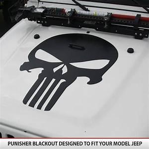 Punisher Jeep Blackout Hood