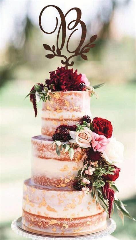burgundy wedding cakes   big day chicwedd