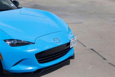 gloss light blue mx  miata car wrap city