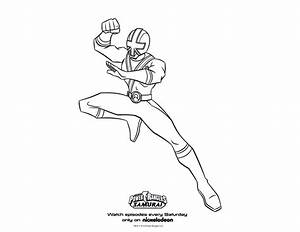 power ranger samurai coloring page | Preschool worksheets ...