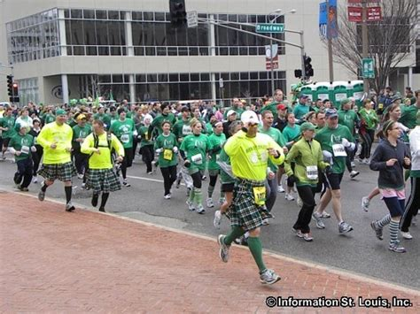St Patrick's Day Parade Run St Louis