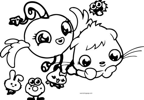 Moshi Monsters Coloring Pages - Eskayalitim