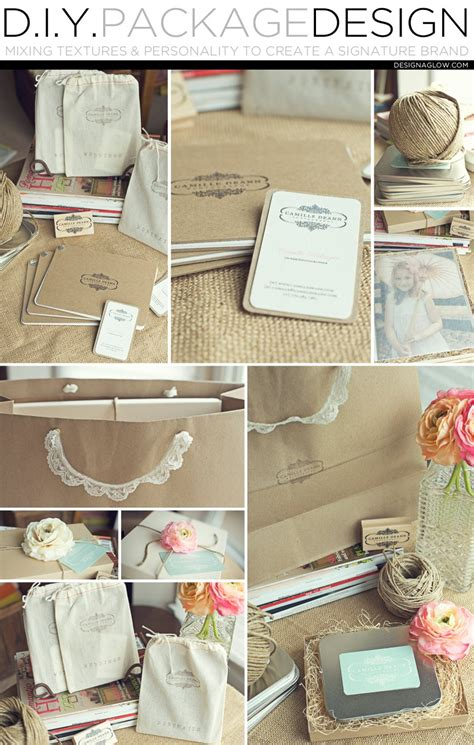 Diy Package Design Mixing Textures And Personality To