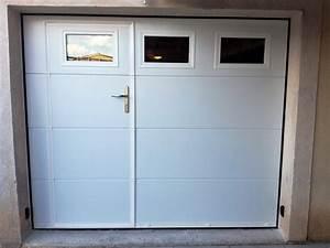 Installation d39une porte de garage sectionnelle motorisee for Porte de garage sectionnelle avec porte de garage 2 vantaux pvc