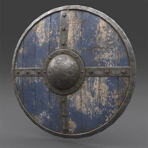 asset viking shield  cgtrader