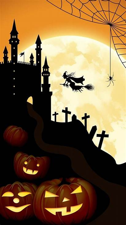 Halloween Wallpapers Iphone Backgrounds Castle Background Galaxy