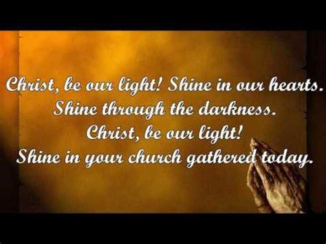 be our light be our light bernadette farrell