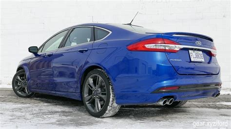 2017 Fusion Sport by 2017 Ford Fusion Sport Review Blue Oval Q Ship Cancels