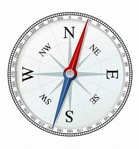 Clipart - simple compass