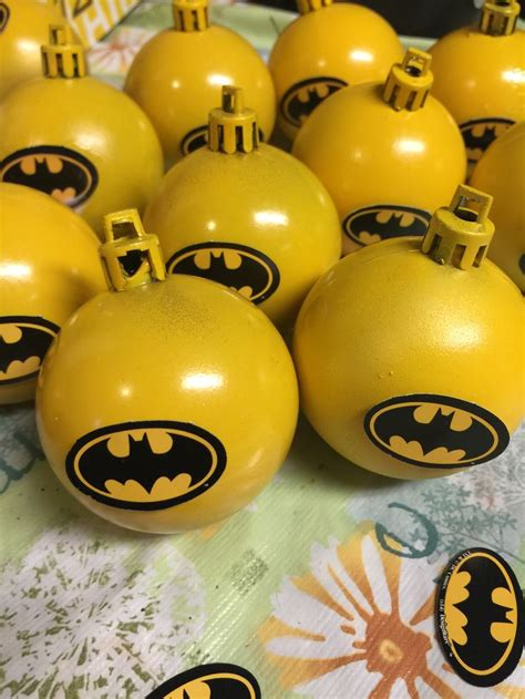 batman ornaments for my christmas tree theme this year