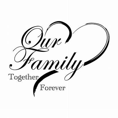 Forever Together Decal Border Loving Memory Quotes