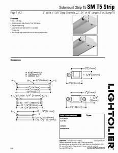 Sidemount Strip T5 Sm T5 Strip Manuals