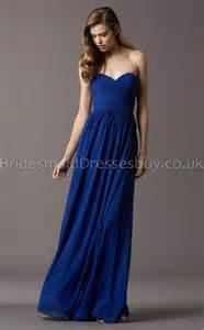 chagne chiffon bridesmaid dresses a line sweetheart royal blue chiffon bridesmaid dresses ukbd03 761 bridesmaiddressesbuy