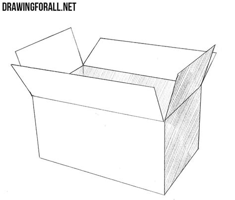 draw  open box drawingforallnet