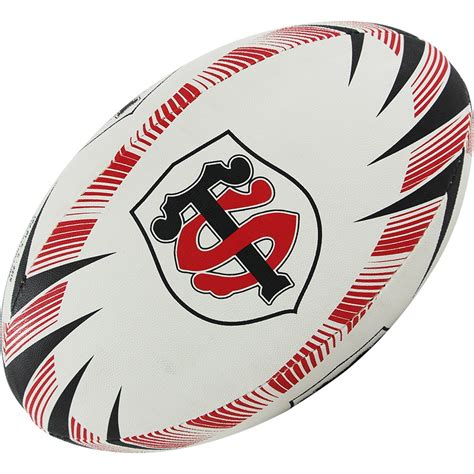 ballon rugby supporter stade toulousain gilbert