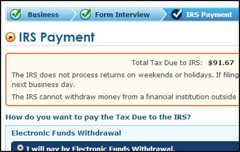 Form To Make Payments To Irs by 2290 E Filing Process Do 2290 Taxes Online Irs 2290