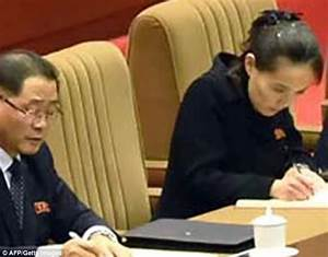 Kim Jong-un's sister sits yards from him after promotion