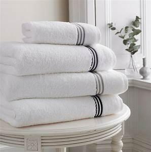Serviette De Bain : serviette de bain ponge coton linge de bain qualit d 39 h tel ~ Teatrodelosmanantiales.com Idées de Décoration