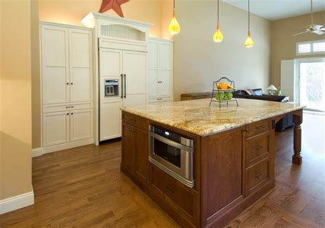 installing a kitchen island does anyone regret installing your microwave in your