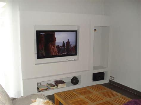 meuble tv en placo d 233 co int 233 rieur tvs