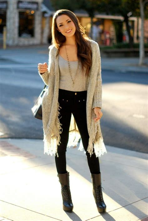 long cardigan sweater outfits   styles