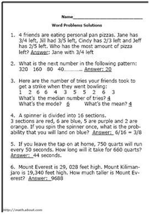 test   grader   math word problem