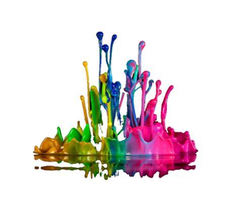colors splash psd vector graphic vectorhqcom