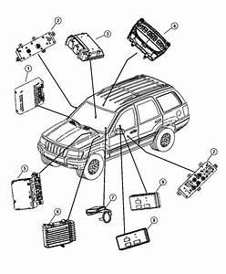2001 Dodge Ram 1500 Module  Air Bag Control  Modules